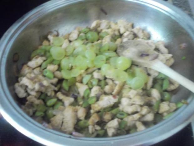 Herzhaft - Blätterteig mit Hähnchen - Rezept - Bild Nr. 3