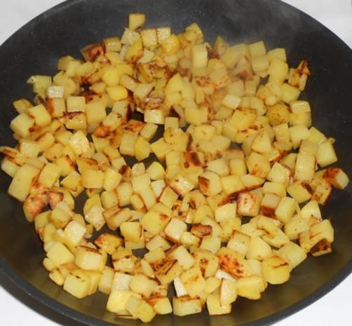 Victoriasee-Barschfilet mit Bratkartoffeln - Rezept - Bild Nr. 7