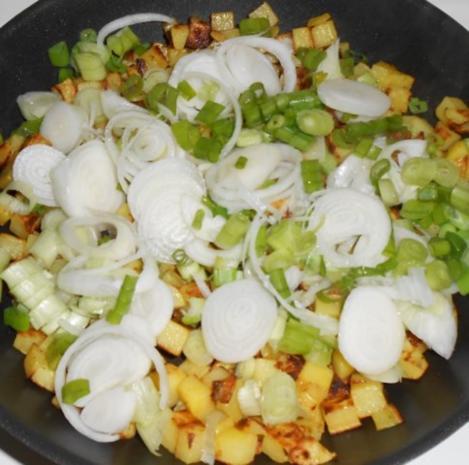 Victoriasee-Barschfilet mit Bratkartoffeln - Rezept - Bild Nr. 8