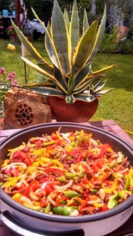 Rind, Schwein & Paprika geschnetzeltes mit Gemüsereis - Rezept - Bild Nr. 8