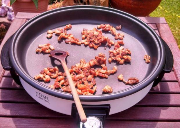 Rind, Schwein & Paprika geschnetzeltes mit Gemüsereis - Rezept - Bild Nr. 4