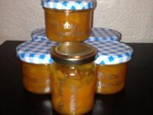 Konfitüre/Ingwer Likör  mit Aprikosen - Rezept
