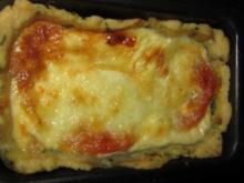 Mozarella-Tomaten-Auflauf - Rezept