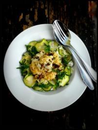 Pilz-Reis (Risotto-Art) mit Zucchini - Rezept