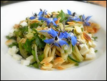 Zucchini-Spaghetti - Rezept