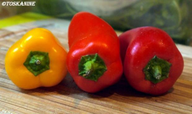 Hähnchenbrust in Pancetta auf sommerlichem Salat - Rezept - Bild Nr. 7