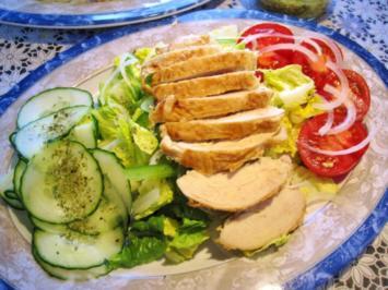 Großer Sommersalat - kühl und erfrischend ... - Rezept