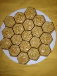 Honigwabenkuchen mit Ingwer - Rezept