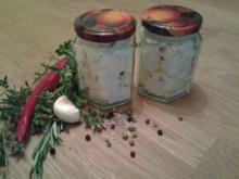 Ziegenfrischkäse im Glas - Rezept