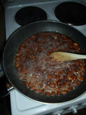 Gebratene Mandeln - Rezept
