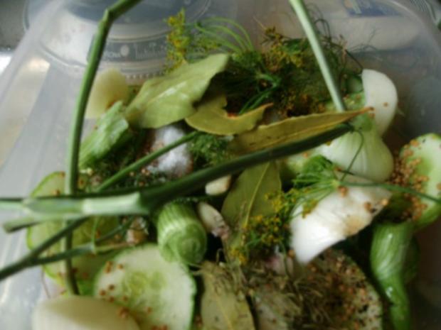 Einmachen - Schnelle Gewürzgurken in Scheiben - Rezept - Bild Nr. 6