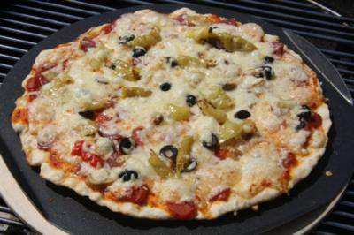 Grillpizza - Rezept