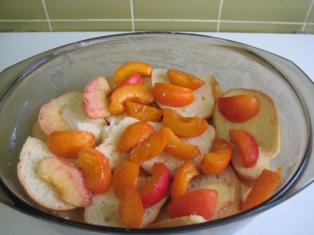 Früchte Brotauflauf - Rezept - Bild Nr. 10