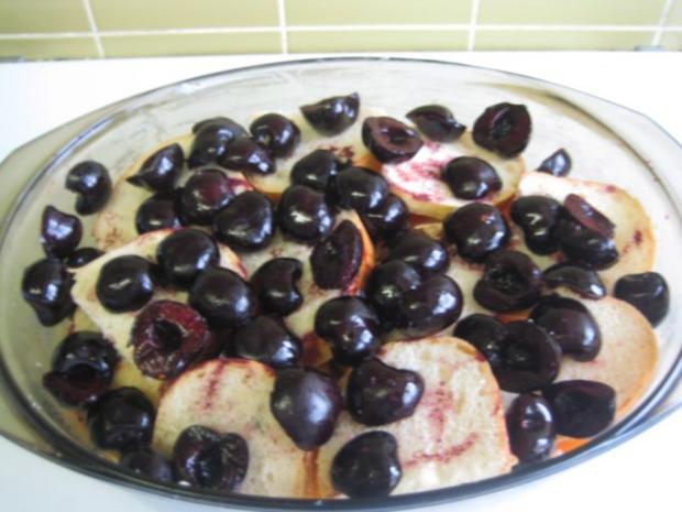 Früchte Brotauflauf - Rezept - Bild Nr. 11