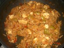 """""""serbisches Reisfleisch"""" mit Hühnerfilet - Rezept"""