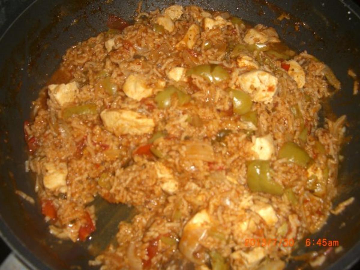 Bilder für serbisches Reisfleisch mit Hühnerfilet - Rezept