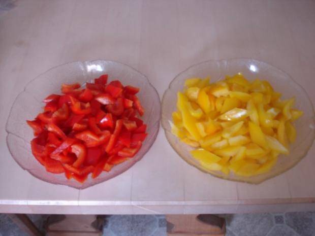 Paprika-Gulasch mit Sellerie-Kartoffelstampf - Rezept - Bild Nr. 3