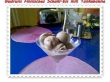 Eis: Finnisches Schokieis mit Tonkabohnen - Rezept