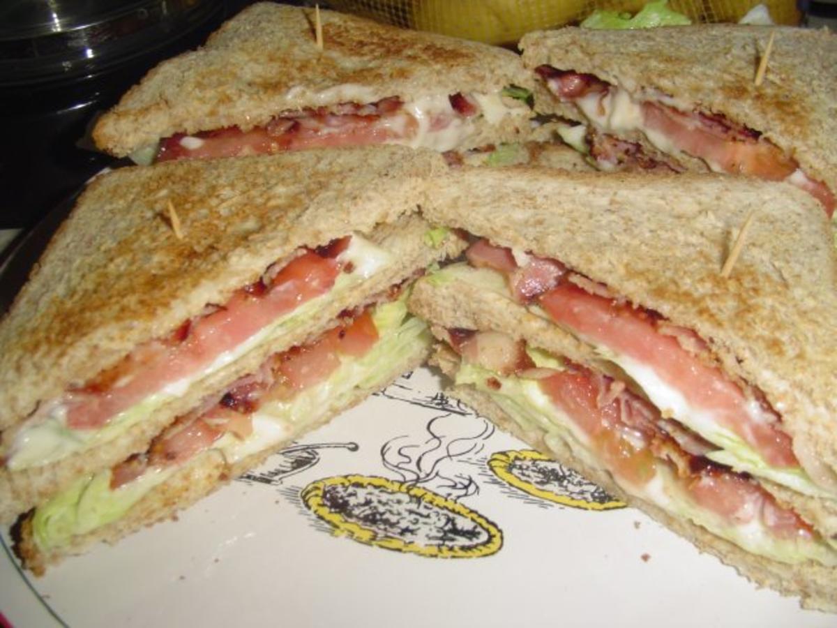 B L T Sandwich Rezept Mit Bild Kochbar De