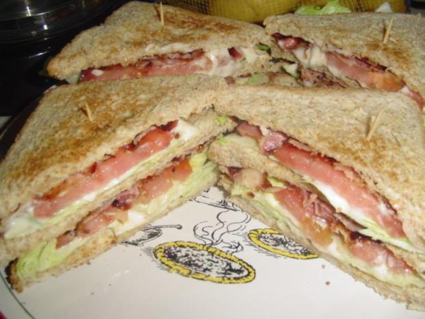 B.L.T. Sandwich - Rezept