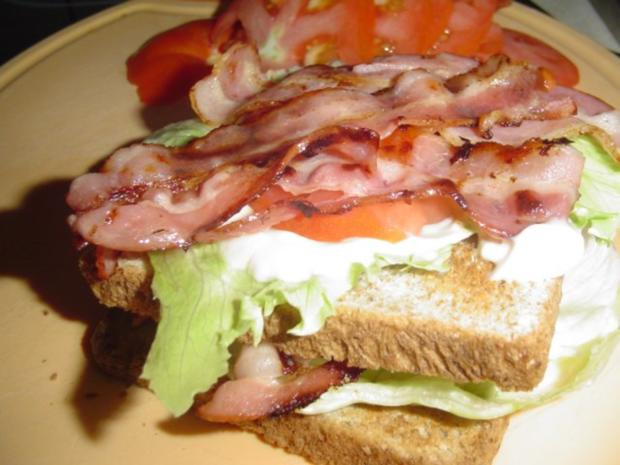 B.L.T. Sandwich - Rezept - Bild Nr. 11