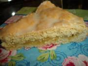 Gedeckter flacher Apfelkuchen - Rezept