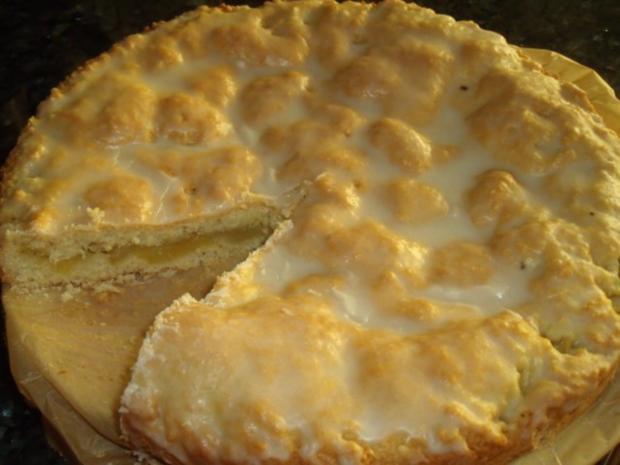 Gedeckter flacher Apfelkuchen - Rezept - Bild Nr. 2