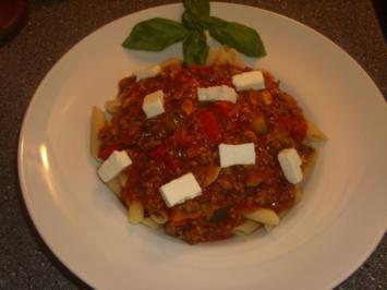 Bärchens  Pasta-Bolognese spezial - Rezept
