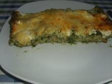 Lachs-Spinat Lasagne - Rezept