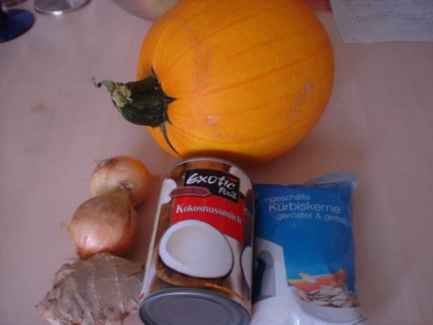 Kürbiscremesuppe asiatisch - Rezept - Bild Nr. 2