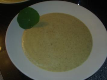 Broccoli-Hack-Käse-Suppe - Rezept