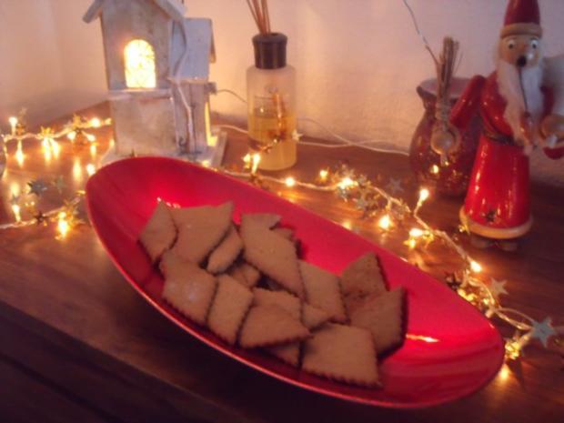 Braune Weihnachtskekse.Braune Kuchen