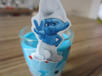 Smurfs Shot - Rezept