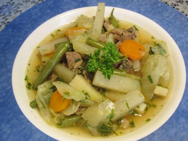 Rindfleischsuppe mit Gemüse ... - Rezept - Bild Nr. 7