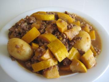 Zucchini-Hackfleisch-Pfanne - Rezept