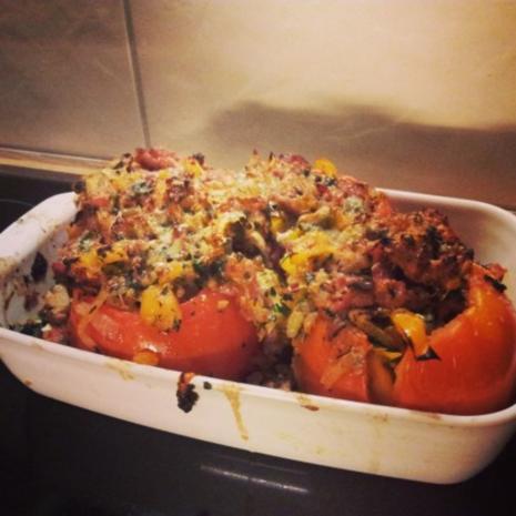 Gefüllte Ofen Tomate - Rezept - Bild Nr. 2