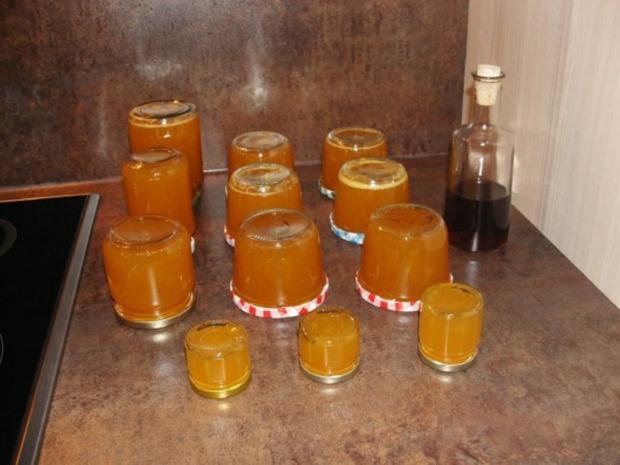 Michis Orangengelee mit Walnusslikör - Rezept - Bild Nr. 3