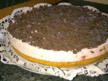 Biskuit-Erdbeer-Sahne-Torte - Rezept