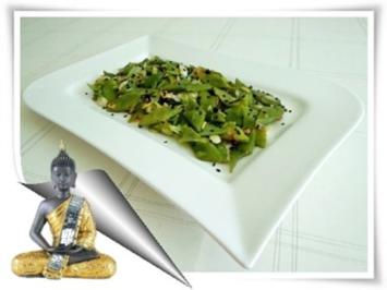 Scharfer  Stangenbohnen Salat - Rezept