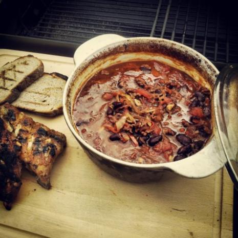 BBQ Bohnen - Rezept