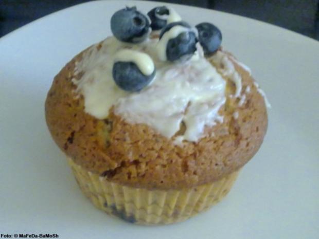 Blaubeer-Mohn-Muffins - Rezept