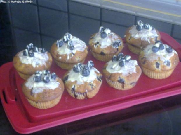 Blaubeer-Mohn-Muffins - Rezept - Bild Nr. 2