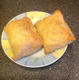 Thunfisch Burekas - Rezept