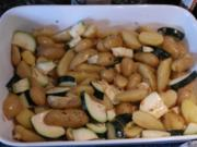 Marinierte Kartoffel-Zucchini-Beilage - Rezept