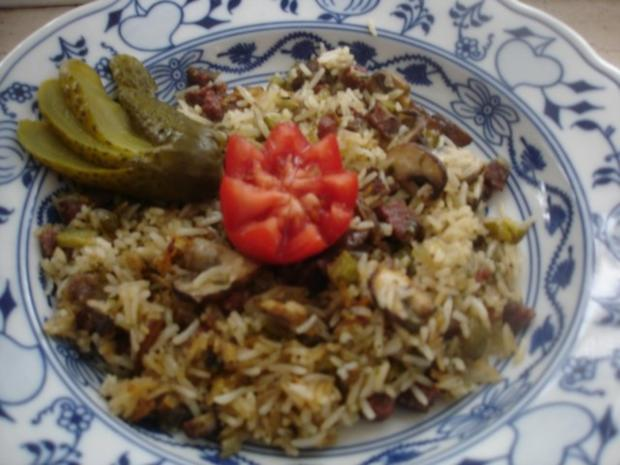 Reispfanne ungarisch - Rezept