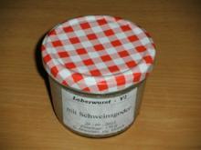 Wursten: Hausgemachte Leberwurst mit Schweinsgoder / Schweinekinn - Rezept