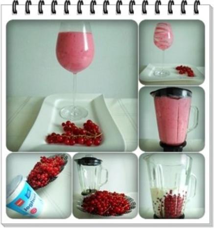 Erfrischend &  vitaminreich Johannisbeeren Shake  zum auslöffeln - Rezept - Bild Nr. 10