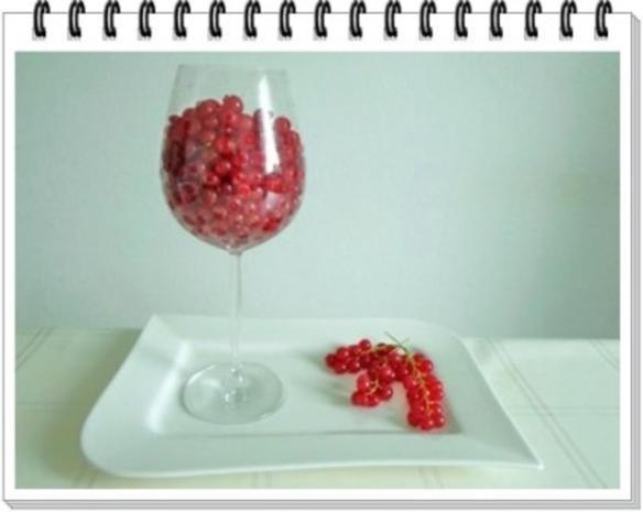Erfrischend &  vitaminreich Johannisbeeren Shake  zum auslöffeln - Rezept - Bild Nr. 5