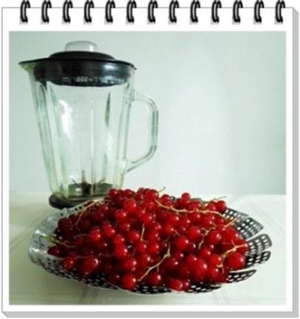 Erfrischend &  vitaminreich Johannisbeeren Shake  zum auslöffeln - Rezept - Bild Nr. 4