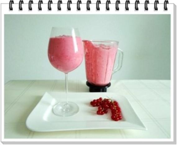 Erfrischend &  vitaminreich Johannisbeeren Shake  zum auslöffeln - Rezept - Bild Nr. 9